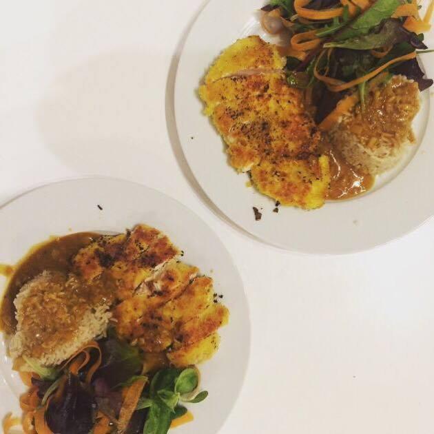 gousto katsu curry 2